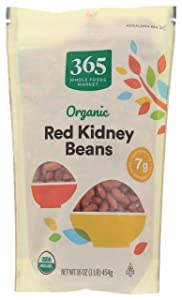365 by Whole Foods Market, Organic Dry Beans, Red Kidney, 16 Ounce
