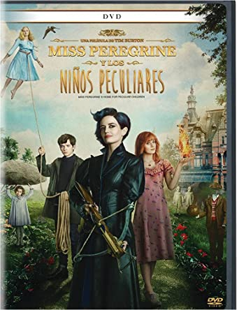 Miss Peregrine Y Los Ninos Peculiares Dvd Region 1 And 4 Version En Espanol Eva Green Tim Burton Cine Y Tv