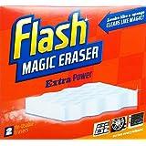 Flash Borrador mágico Extra Power - 1 x 2 reutilizables Borradores