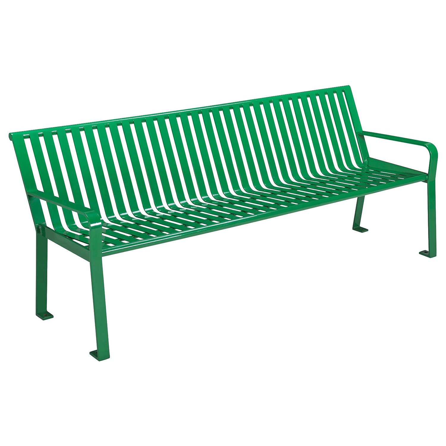 Prime Amazon Com Global Thermoplastic Coated Slat Steel Bench Bralicious Painted Fabric Chair Ideas Braliciousco