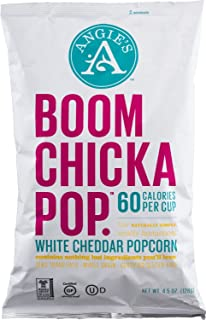 product image for Angie's Popcorn Boomchickapop White Cheddar Popcorn, 4.5 oz