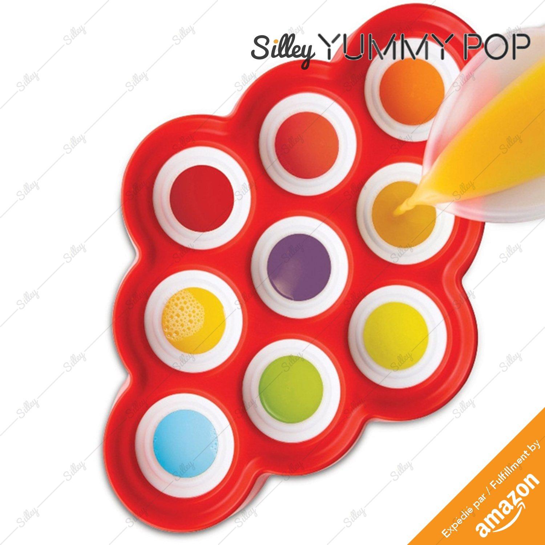 Compra silley® Yummy Pop & # x2605; Molde para helados Mini ...