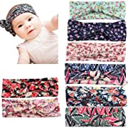 Defitck Baby Headbands Girls Newest Turban Head Wrap Knotted Hair Accessorie Band (fzt0010)