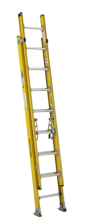 Werner D7124-2 375-Pound Duty Rating Fiberglass Round Rung Extension Ladder 24-Foot