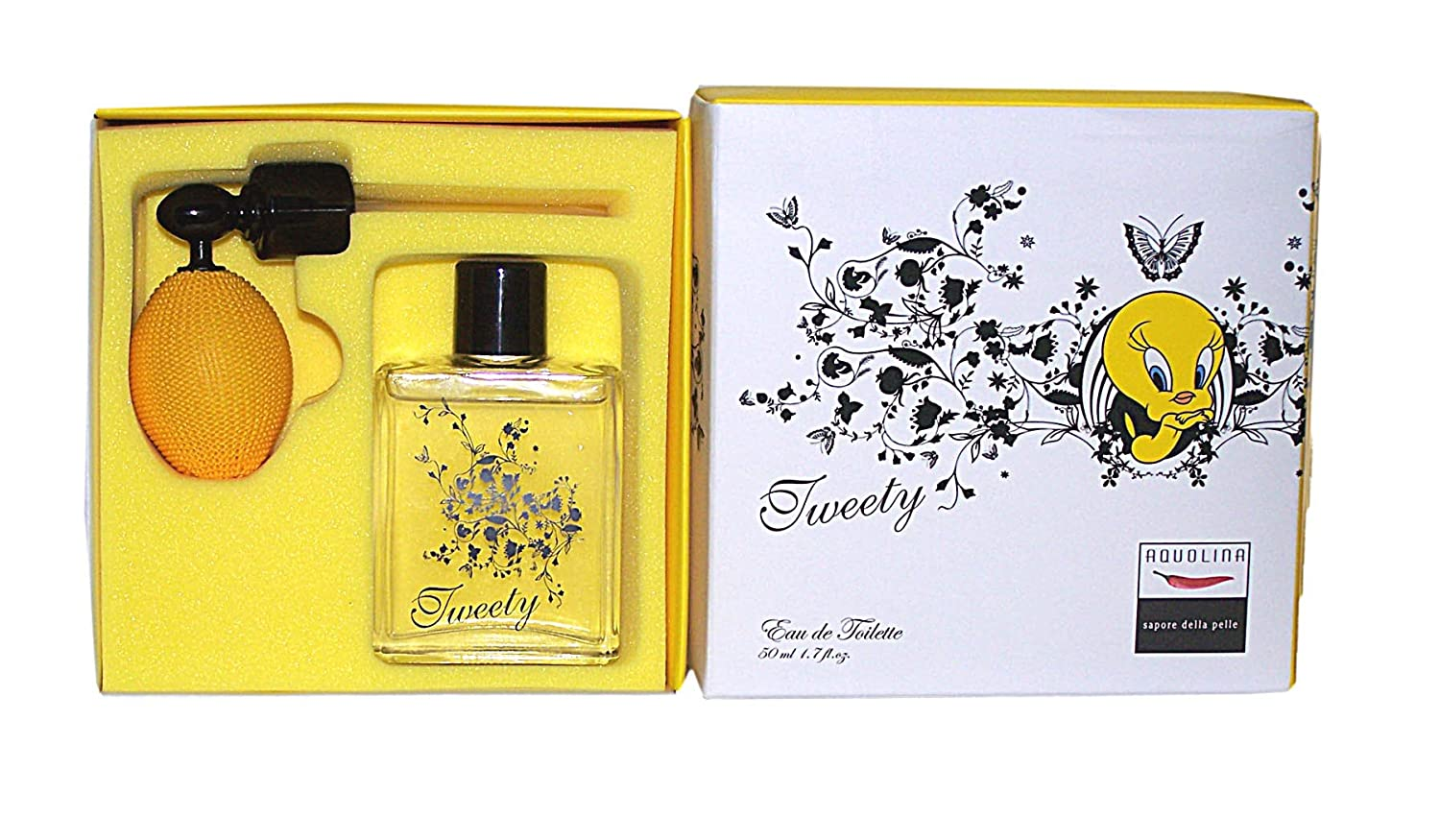 Warner Bros.Entertainment Inc. Aquo Lina Tweety Eau de Toilette 50 ml + nebulizzatore