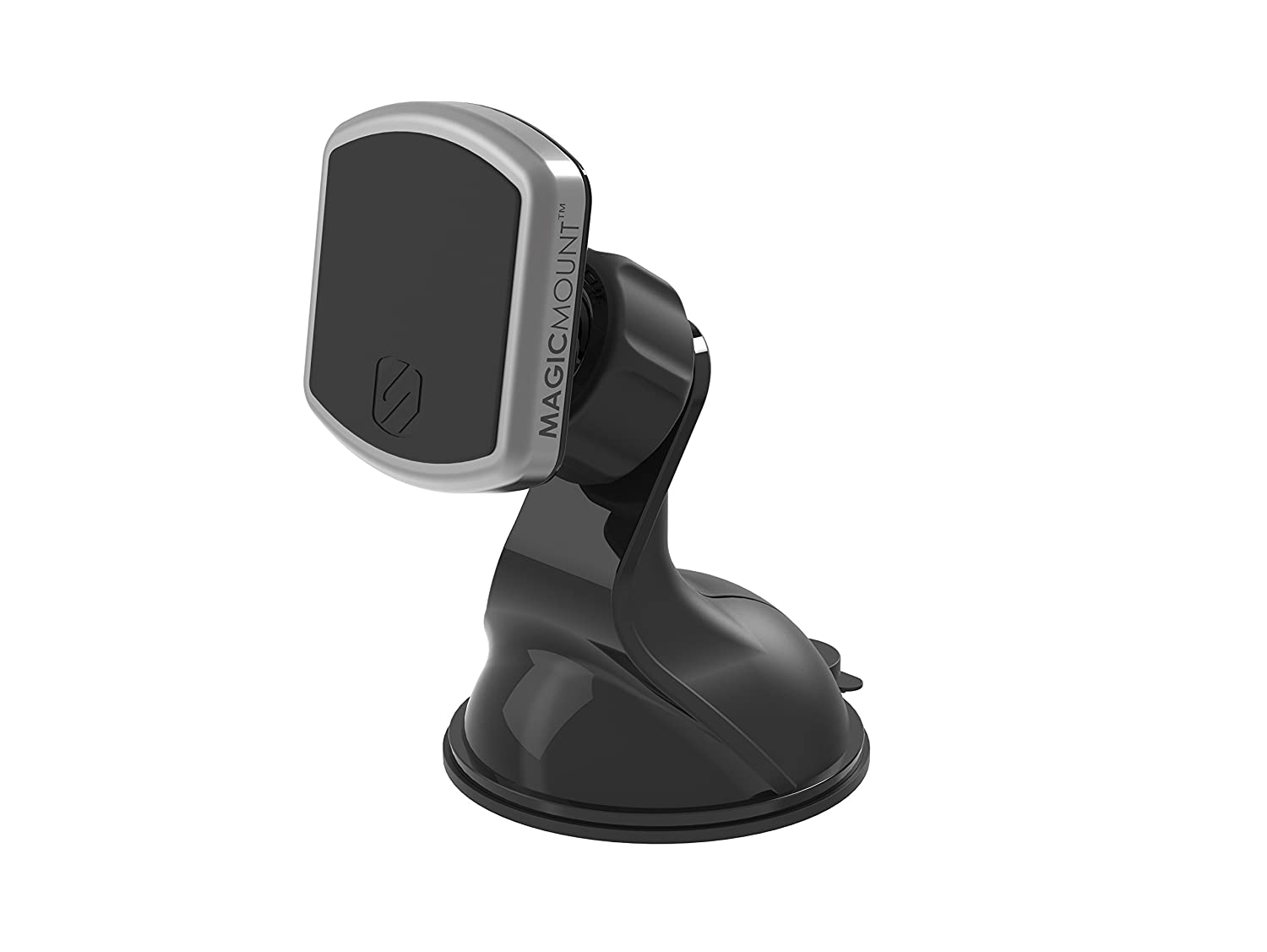 SCOSCHE MPWDB MagicMount Pro Universal Magnetic Window & Dash Smartphone/GPS Mount for the Car, Home or Office in Frustration Free Packaging