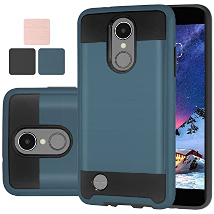 LG Aristo 2 / Aristo 2 Plus Case,Harryshell Shock Absorption Drop  Protection Hybrid Dual Layer Case for LG Tribute Dynasty/Fortune/Phoenix 3  / Zone 4