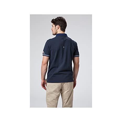 Helly Hansen HP Polo Club-Polo-Homme S Gris (Charcoal 964) mSleh