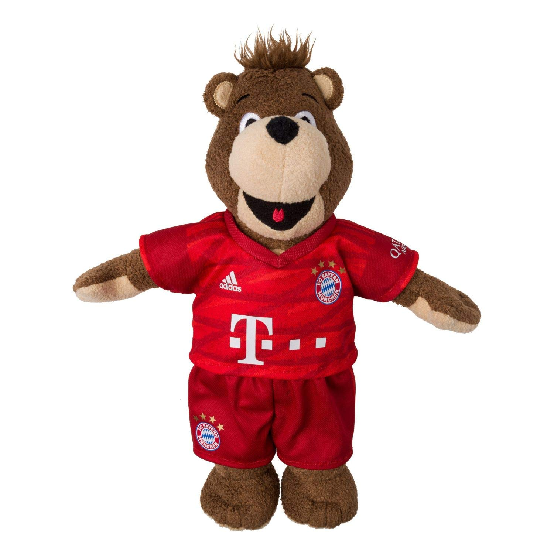 FC Bayern M/ünchen Berni 35 cm Maskottchen FCB Saison 2019//20 Plus Lesezeichen I Love M/ünchen