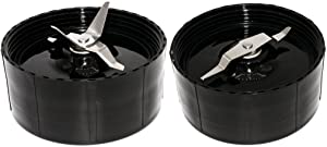 Blendin Replacement Cross and Flat Blades,Fits Magic Bullet MB1001 Blenders
