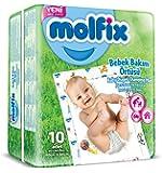 Molfix Bebek Bakım Örtüsü 10 Adet