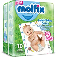 Molfix 5024151 Alt Değiştirme Örtüsü, Beyaz