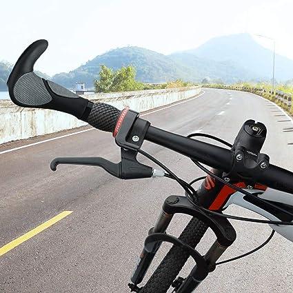 Simpeak Puños Bicicleta Puños Scooter Montaña Bici MTB Mangos de ...