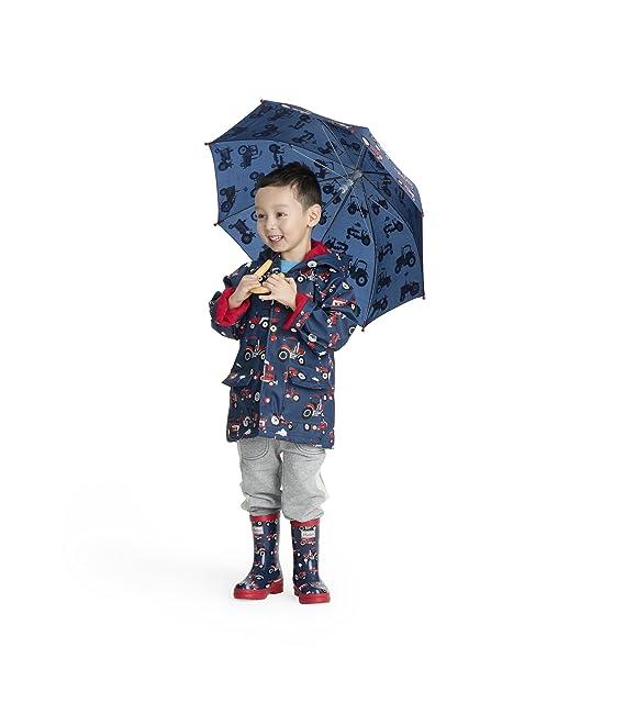 Hatley Printed Umbrella, Paraguas para Niñas: Amazon.es: Ropa y accesorios