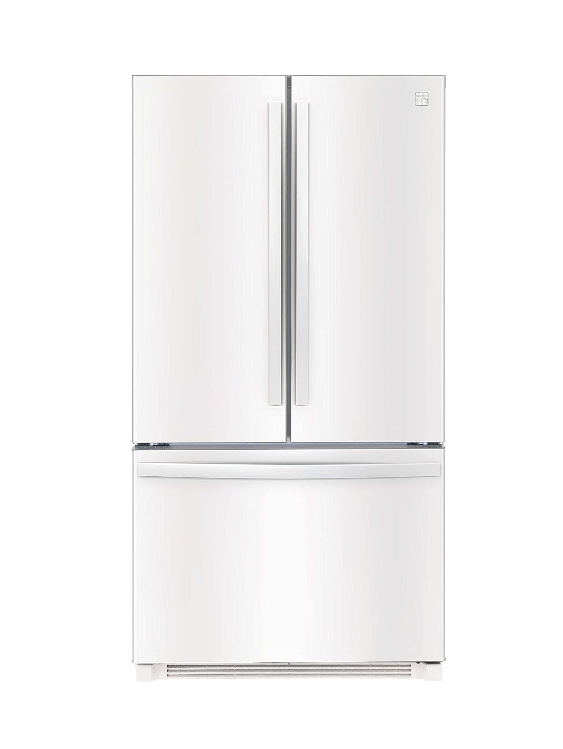 Kenmore 73022 26.1 cu. ft. Non-Dispense French Door Refrigerator in White, includes delivery and hookup (Available in select cities only)
