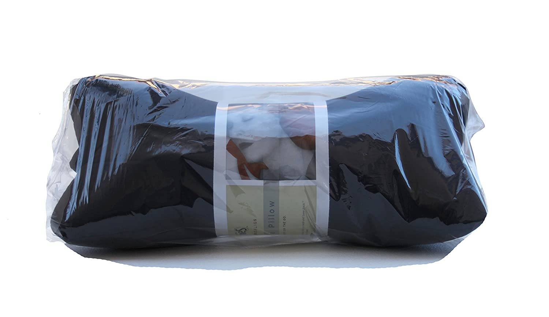 Original Bones NeckBone Chiropractic Cervical Pillows in Poly Cotton Red Zipper Access for Comfort Adjustment