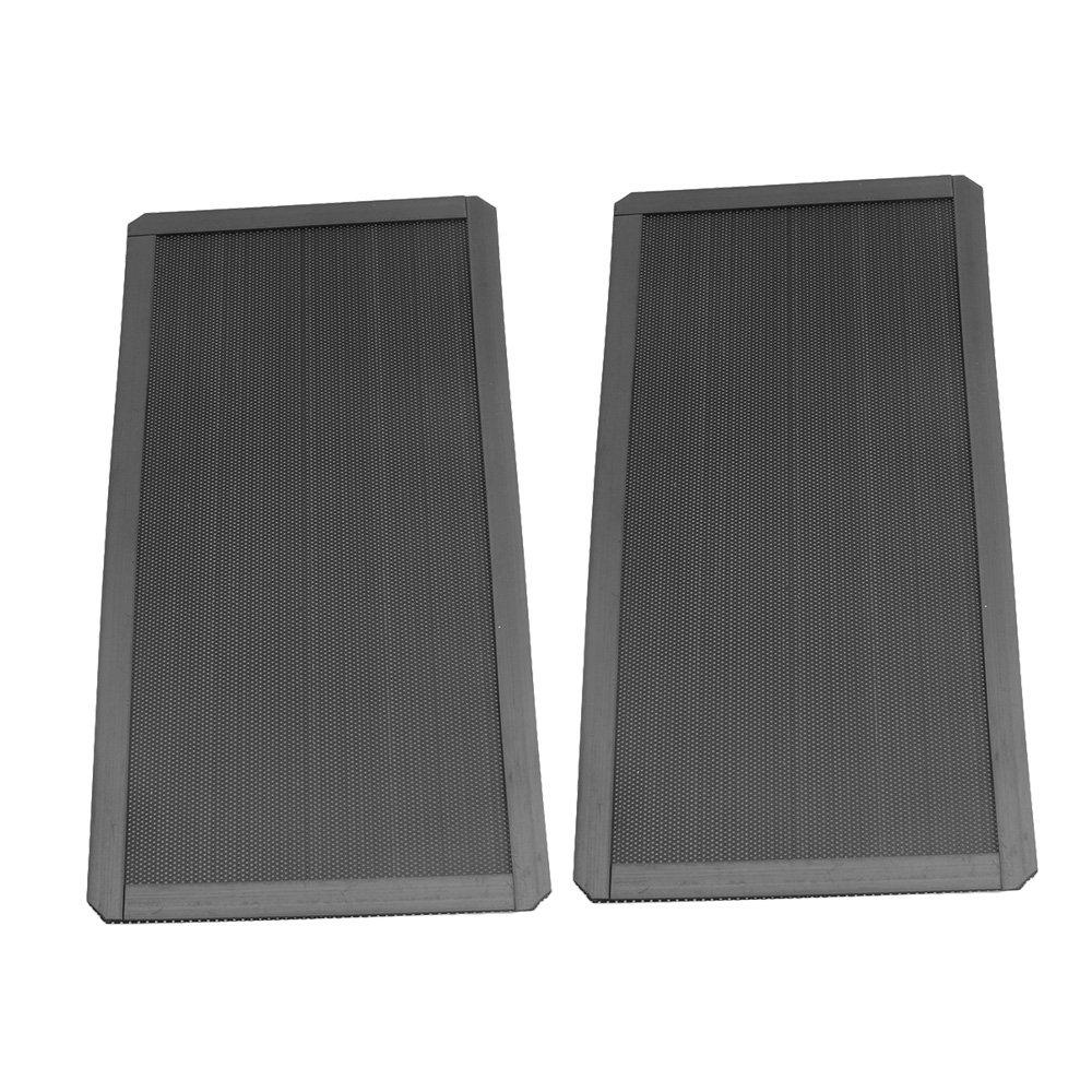 DEMCiflex Square Filtro antipolvere magnetico per radiatore colore: Nero 3 x 120 mm