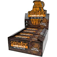 Grenade Carb Killa High Protein and Low Carb Bar, 12 x 60 g - Fudge Brownie