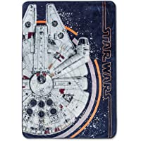 Jay Franco Star Wars Ep 8 Resistance Blanket, Gray