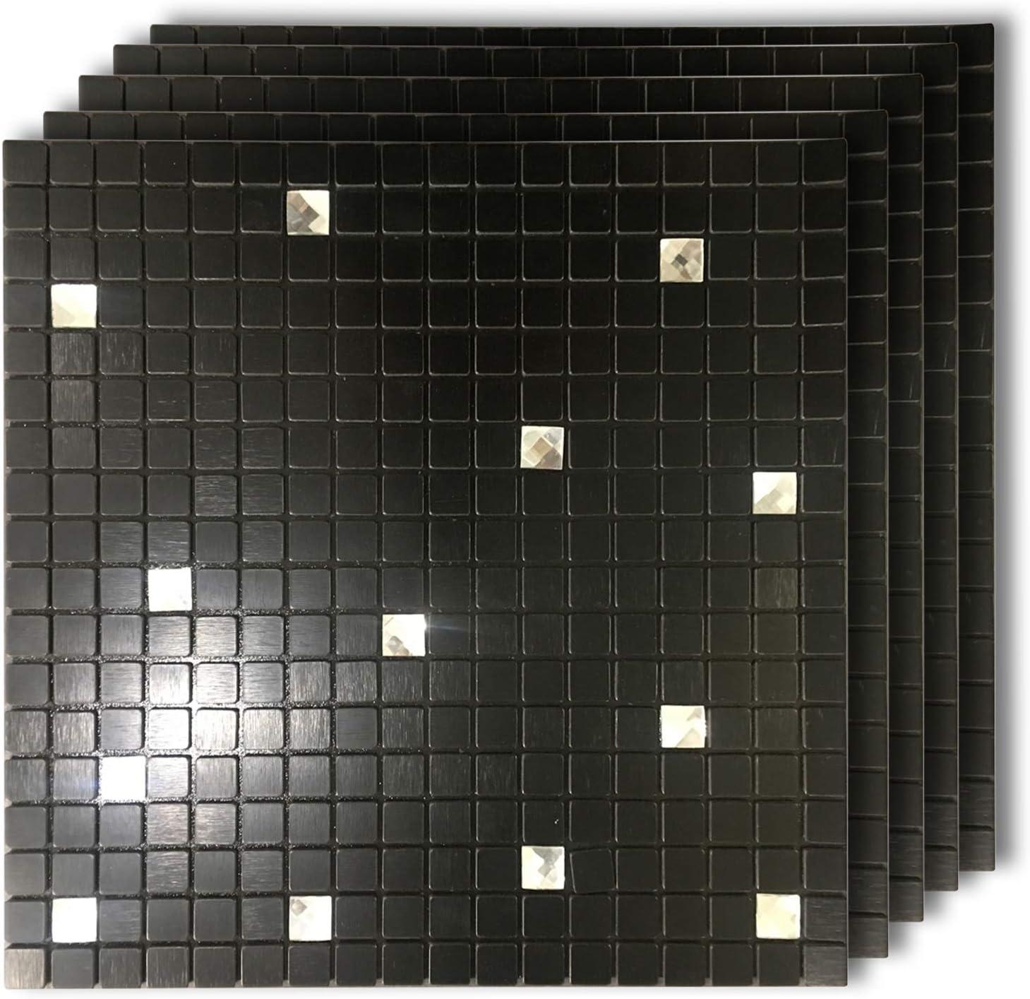 - Amazon.com: HomeyMosaic Peel And Stick Tile Backsplash Stick On