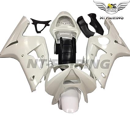 NT FAIRING Fit for Kawasaki Ninja ZX6R 636 2003 2004 Injection Mold Fairing Kit Unpainted Bodywork Plastic Bodyframe 03 04