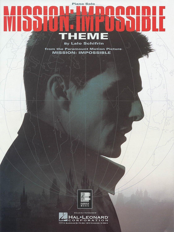 SheetMusic Mission Impossible Theme (PA)(RCM Pop 8) HL Hal-4921