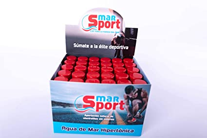 Agua de Mar Hipertónica MarSport 30 ampollas minidosis: Amazon.es: Salud y cuidado personal