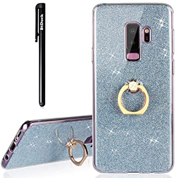 BtDuck - Carcasa para Samsung S9 Plus con purpurina, suave ...