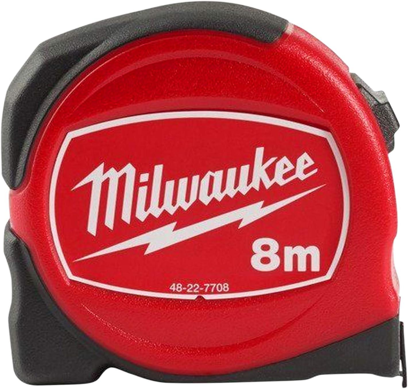 Métrique Seulement Milwaukee Outils à main PRO COMPACT ruban à mesurer 8 m Largeur 25 mm