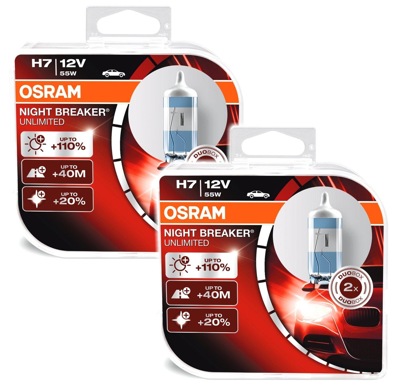 Osram Night Breaker Unlimited H7 55W 12V Halogen Leuchtmittel
