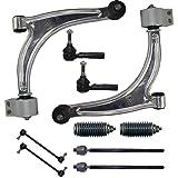 Detroit Axle - Complete 10-Piece Front Suspension