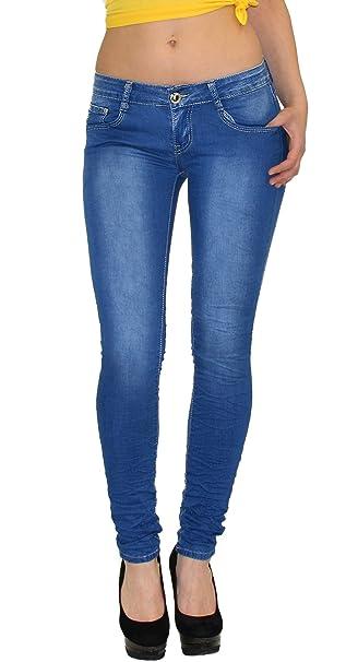 By-tex # S300 - Pantalones Vaqueros rotos para Mujer ...