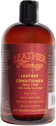 Leather Honey Leather Conditioner, Best Leather Conditioner Since 1968. For Use on Leather Apparel, Furniture, Auto Interior