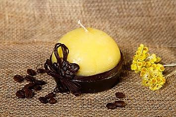 Handmade Belle Bougie Decorative Avec Grains Bougie En Paraffine La