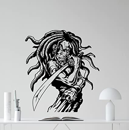 Amazon.com: Rasta – Adhesivo decorativo para pared de ...