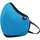 Vertical Skin Friendly Knitted Cotton Face Mask (SKY BLUE)