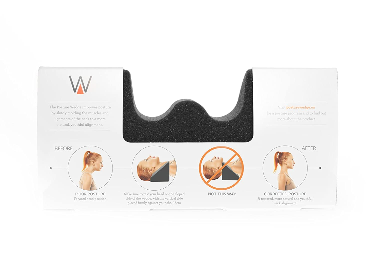 Posture Correction Device The Posture Wedge Fix Your Posture With Just 10 Minutes Of Use Per Day Spine Line Inc.