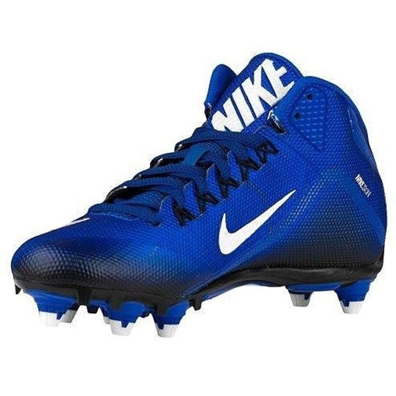 NIKE Alpha Pro 2 3/4 TD Football Cleats (12, Sport Royal/Black/White) Variation