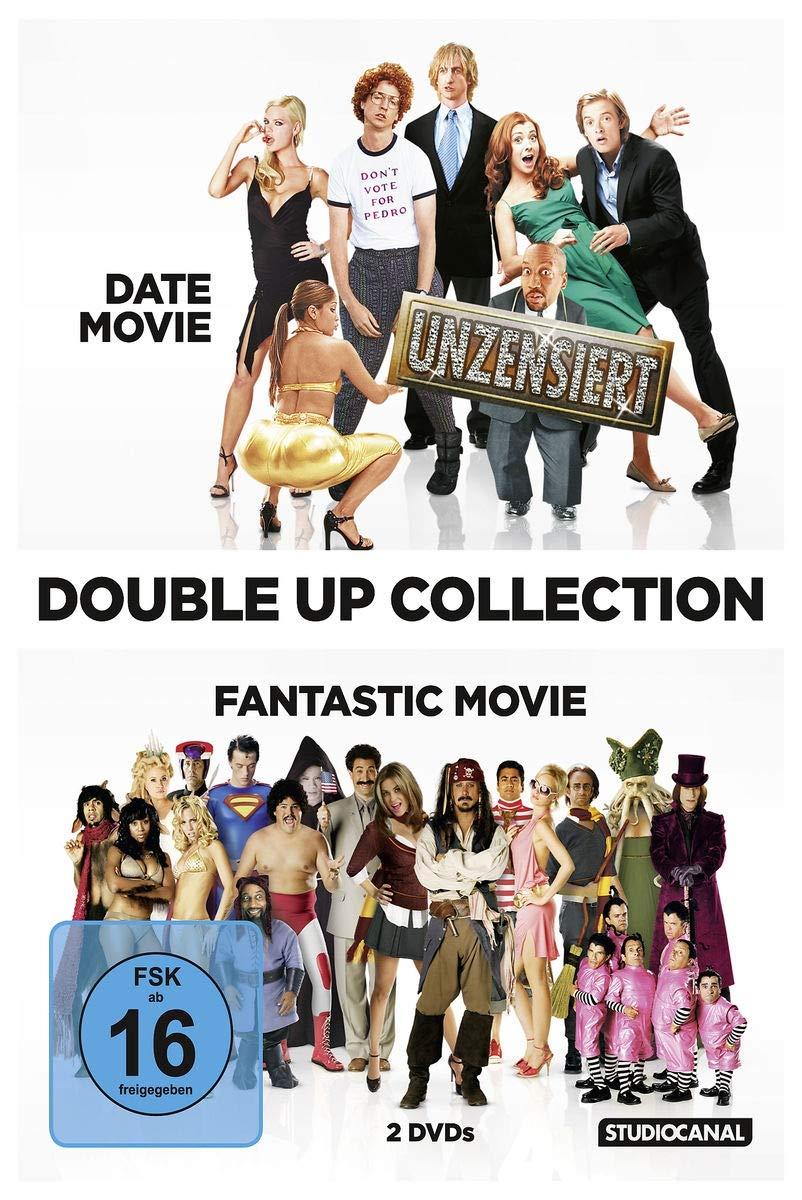 Double Up Collection: Date Movie / Fantastic Movie Alemania DVD: Amazon.es: Alyson Hannigan, Adam Campbell, Tony Cox, Kal Penn, Jennifer Coolidge, Aaron Seltzer, Jason Friedberg, Alyson Hannigan, Adam Campbell: Cine y Series