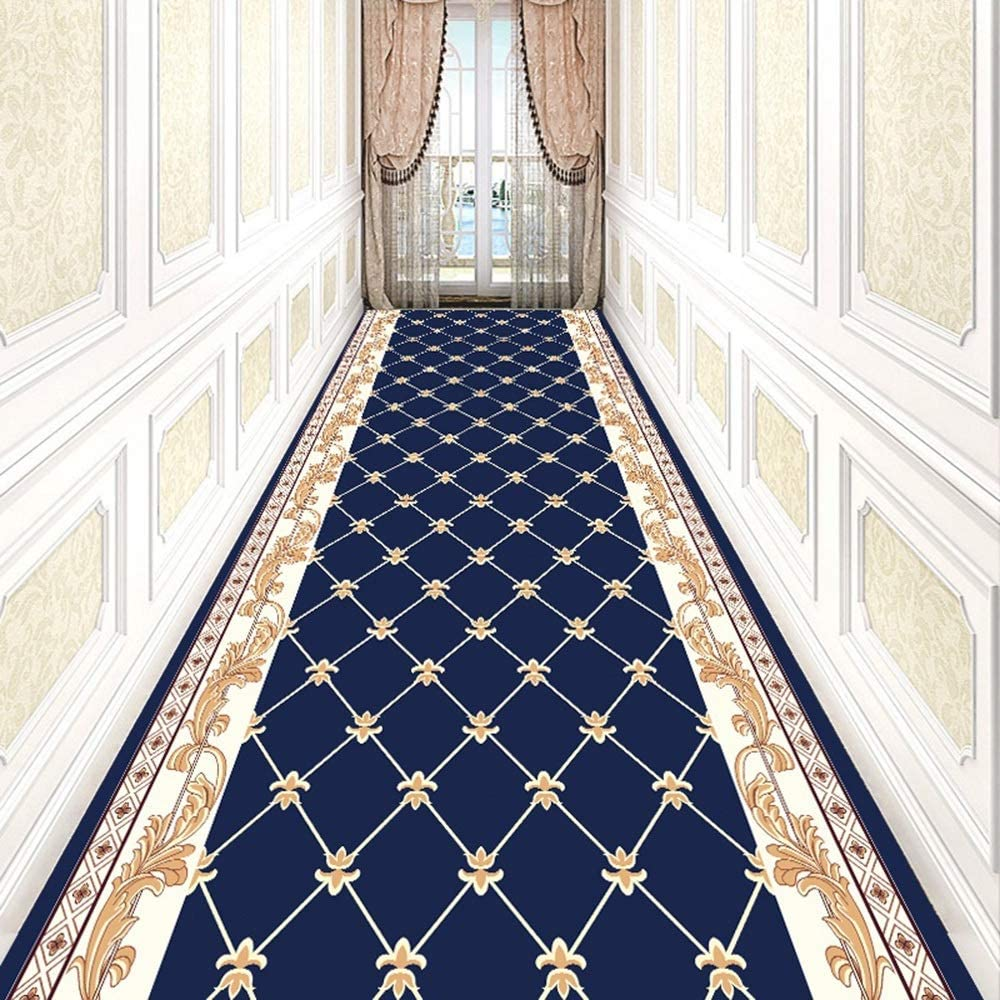 Easy Care Size : 60/×100CM LJJL Hallway Runner Carpet Indoor Area Rugs for Aisle Entryway Bedroom Home Decor