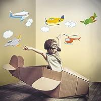 DekorLoft Uçaklar Çocuk Odası Duvar Sticker CS-111