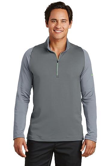 3605baaf2e77 Amazon.com  Nike Golf Dri-FIT Stretch 1 2-Zip Cover-Up. 779795 ...