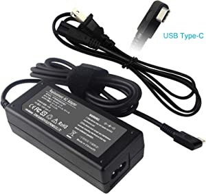 USB Type-C Laptop Charger for Lenovo Yoga 720 720-13IKB 720-13 730-13 730-13IKB 910 910-13IKB ThinkPad T480 T580 USB-C X1 Carbon 5th 6th Gen Tablet ADLX65YCC3D ADLX65YLC3D ADLX65YDC3D ADLX65YCC2A