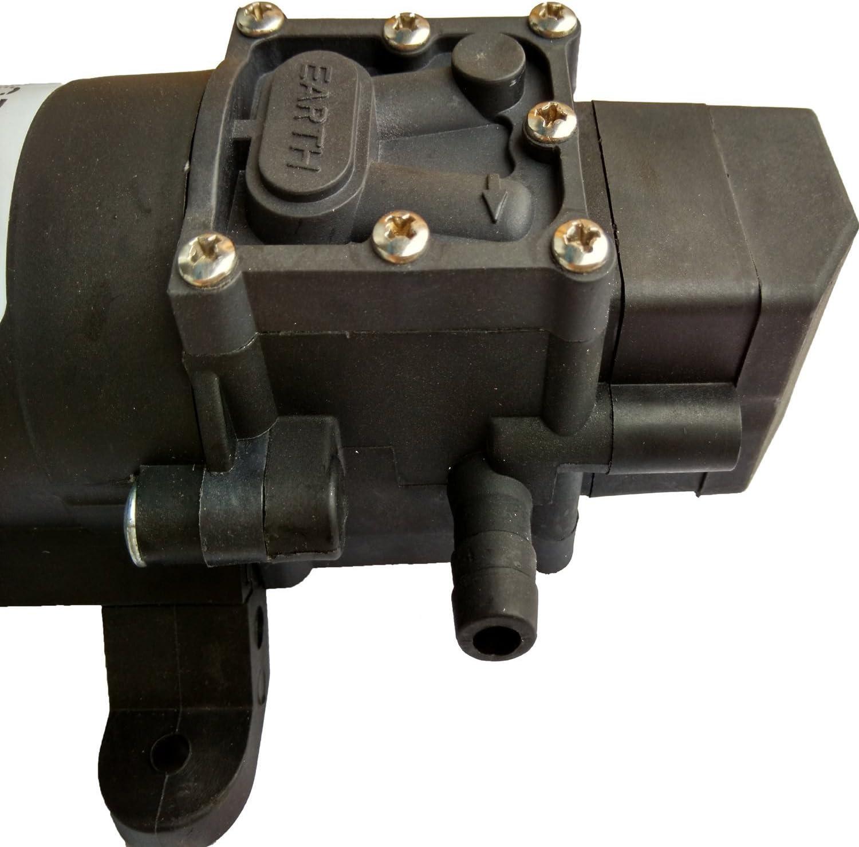 Labellevie Pompe /à Eau Automatique Haute Pression Diaphragme DC12 V 5L//m pour RV Bateau Caravane