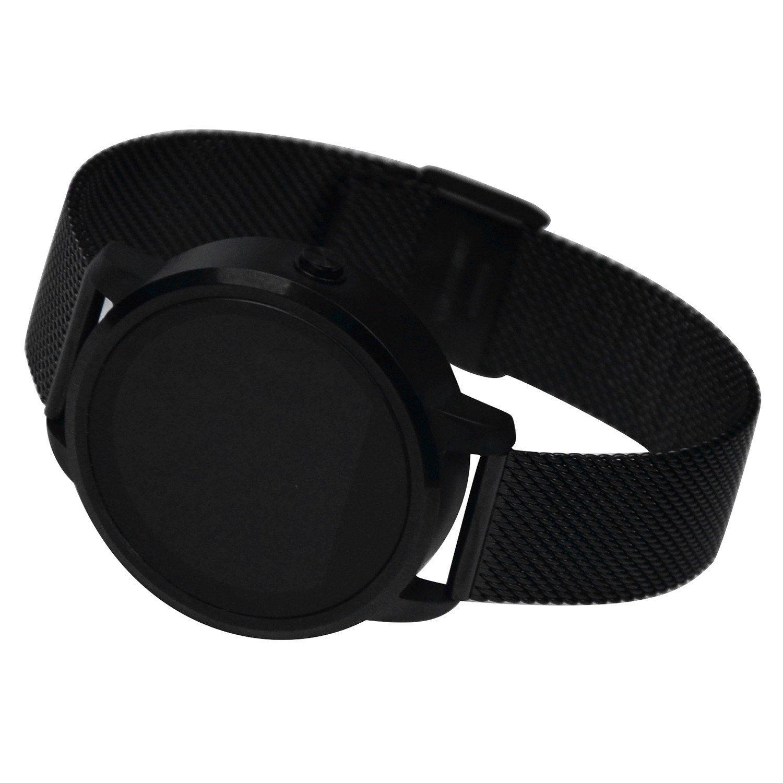 Brazalete de fitness - Tensiómetro/Bluetooth Smart Watch Reloj de pulsera Fitness Tracker/Fitness pulsera Pulsómetro Bluetooth/Podómetro Pulsera Plus/de ...