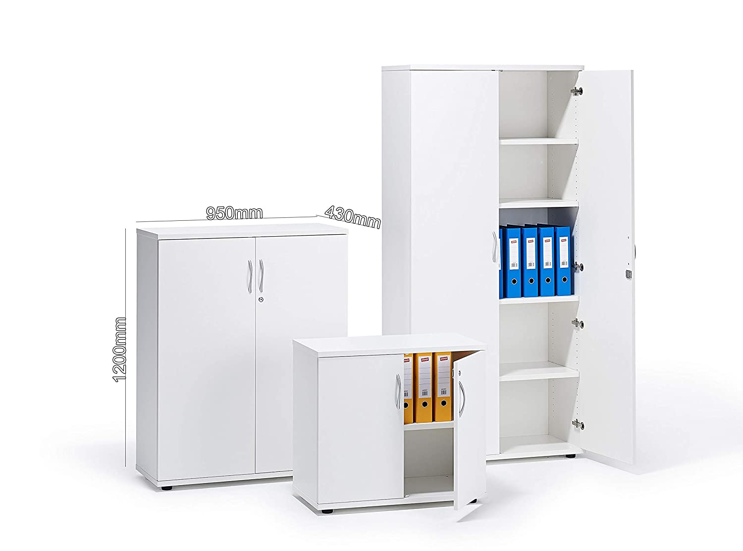 White Executive Office Cupboard