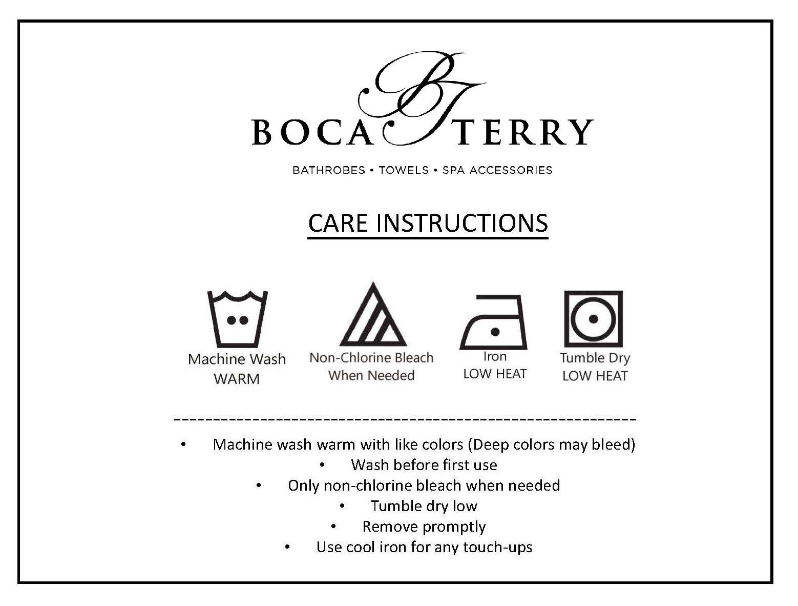 Boca Terry Women's Spa Wrap - Cotton Poly Waffle Spa, Shower and Bath Towel - XXL