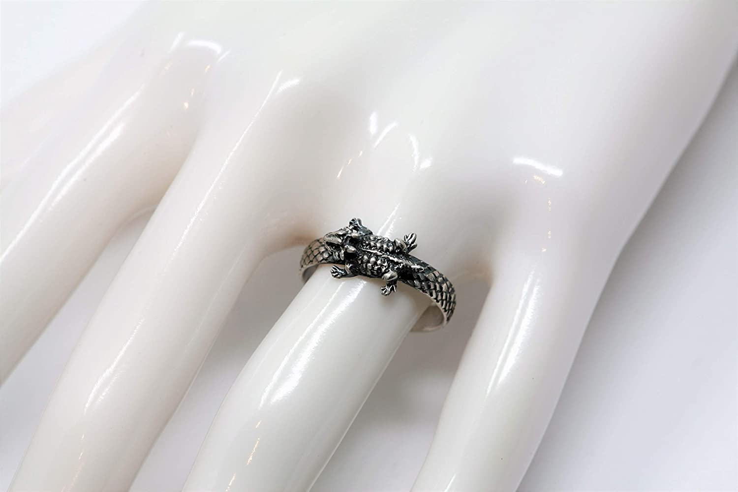 Horny Toad Reptile Scaled Ring