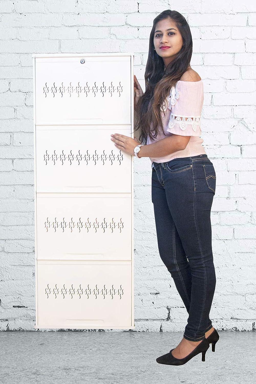 SS Shoe Locker With Transparent Doors at Rs 50000/piece