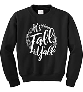 Psalm Life Hello Fall Cute Pullover Sweatshirt Unisex Halloween Thanksgiving Graphic Crewneck